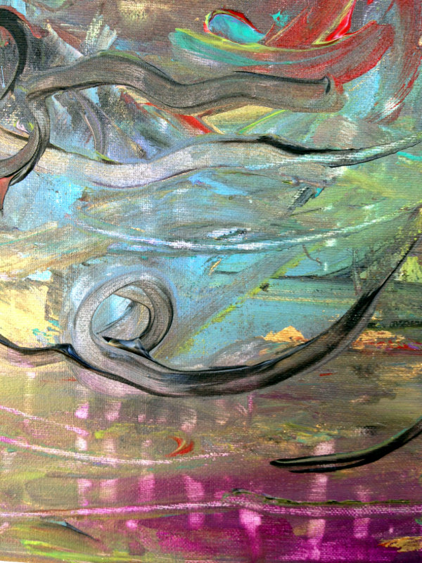 an abstract detail