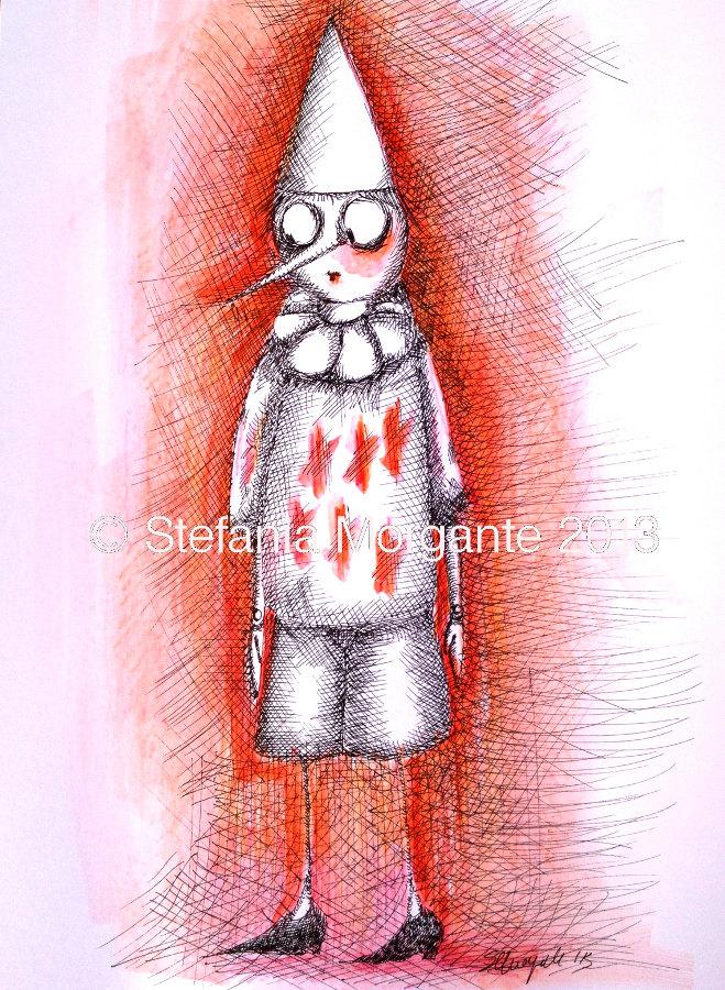 Pinocchio-colorful illustration