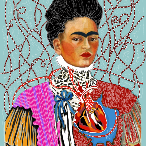 frida kahlo fashion