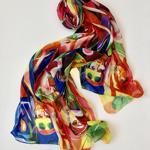 Blow-Up movie scarf
