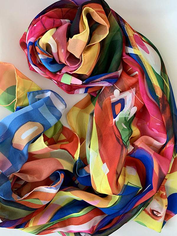 Blow-Up movie scarf